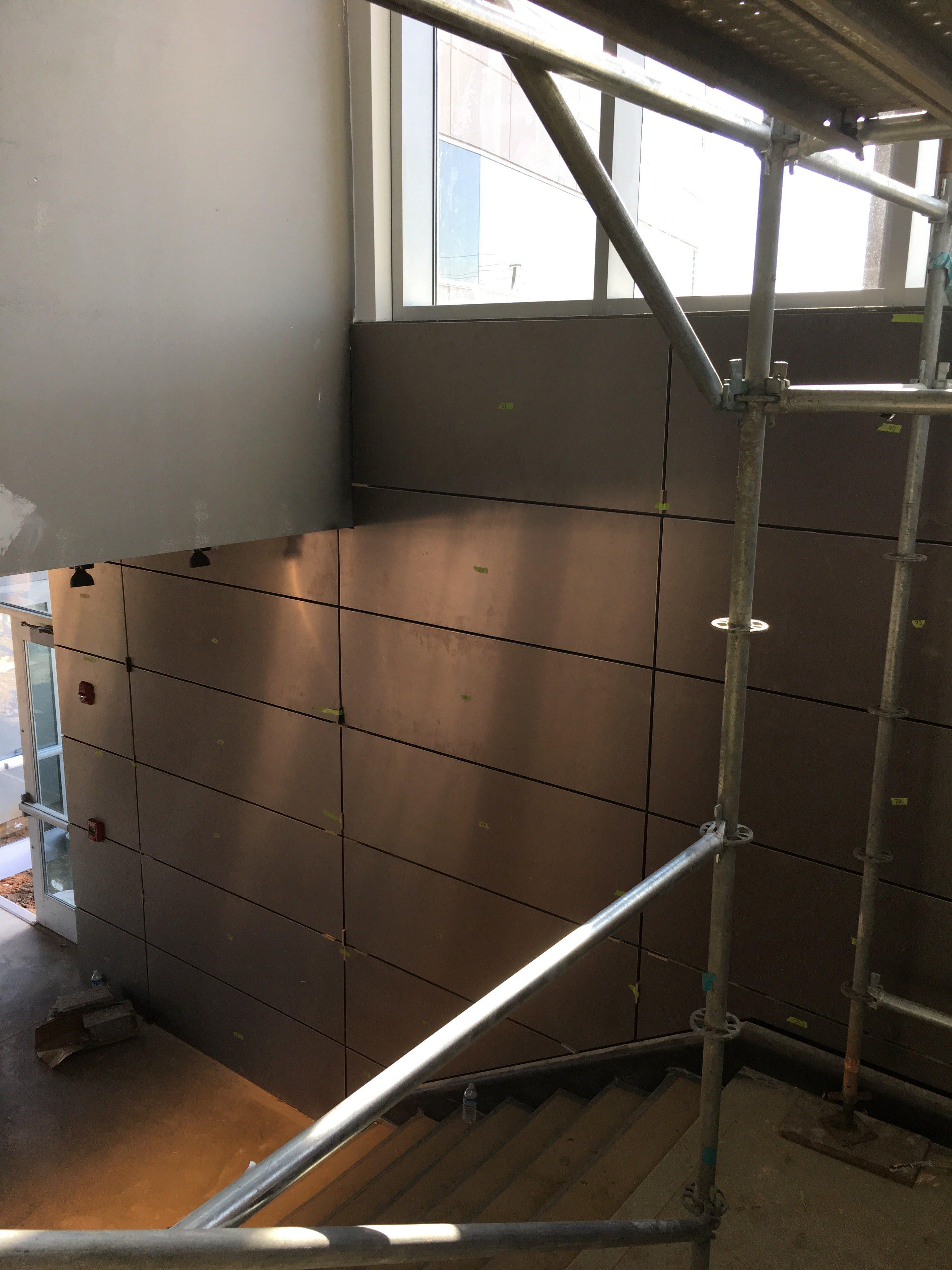 Top Golf Stairwell scaffold 3