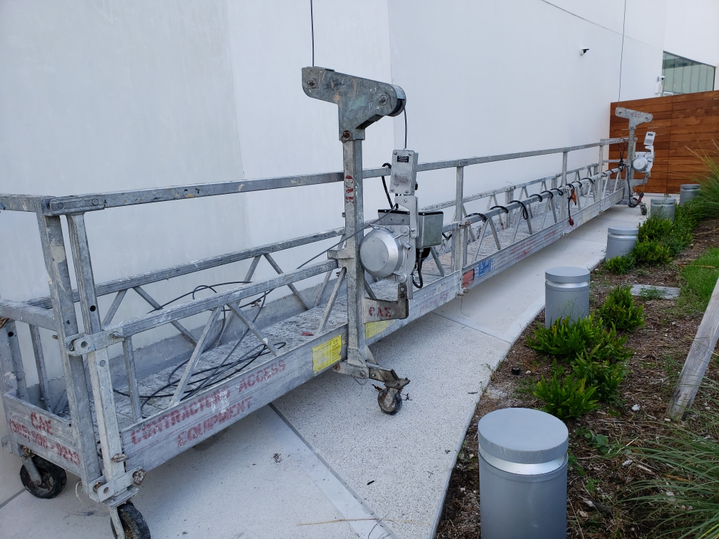 Mt Sinai Hospital Scaffold Swing Stage - Contractors Access