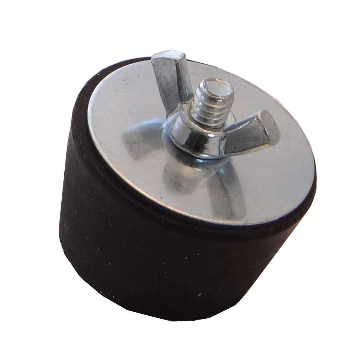 542030386 rubber drain plug for tile saw water pans