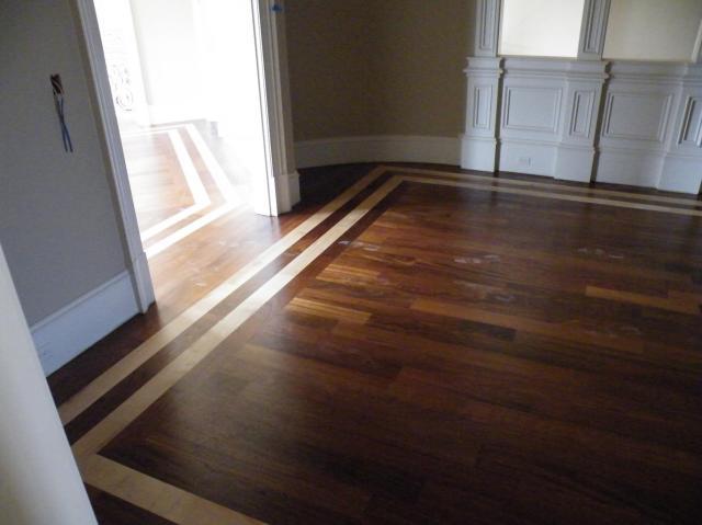 Hardwood Floor Inlay - Flooring - Contractor Talk