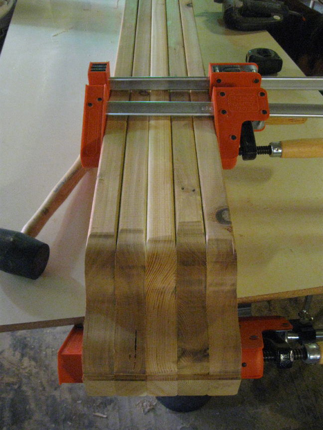 Scroll Work Rafter Tail Steps Finish Carpentry