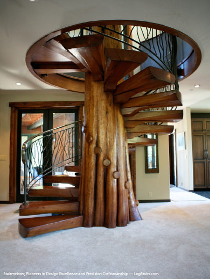 Timber Spiral Staircase Framing Contractor Talk