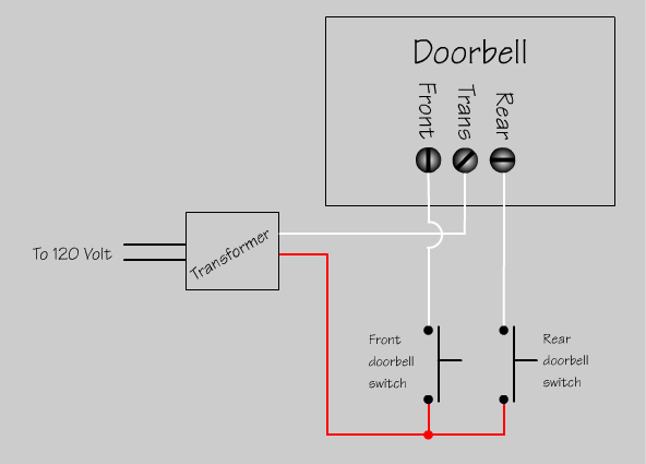 doorbell wiring diagram diode doorbell image doorbell wiring diagram two chimes jodebal com on doorbell wiring diagram diode