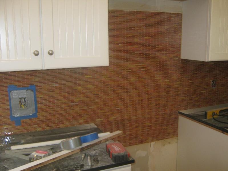 Nice Installing Tile Backsplash Over Drywall Part 8 Installing