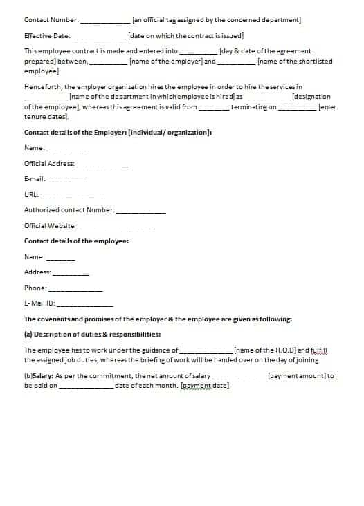 Free contract templates word pdf agreements for Consultation contract template