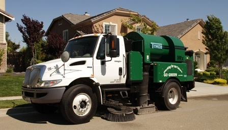 Statewide Sweeping Roadway Sweeper Truck
