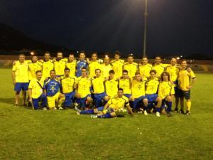 La squadra vincitrice del 41° Torneo di Calcio delle Contrade (2012)
