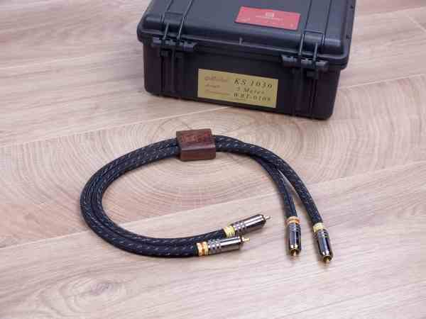 Kimber Kable Select KS-1030 highend audio interconnects RCA 0,5 metre 1