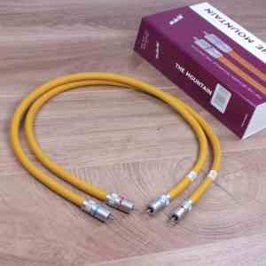 Van den Hul 3T The Mountain audio interconnects RCA 0,8 metre 1