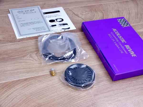 Acoustic Revive RGC-24 Triple-C FM Ground Conditioner BRAND NEW 1