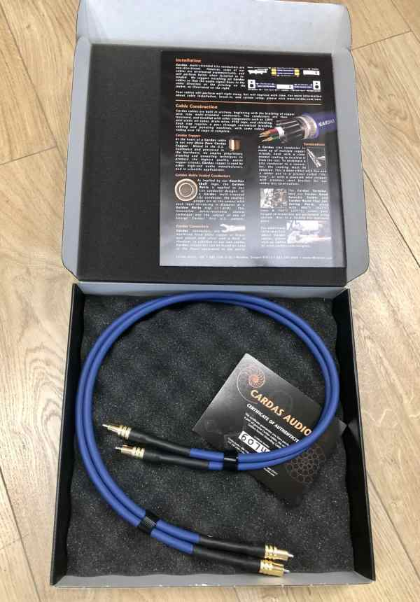 Cardas Audio Clear Sky interconnects RCA 1,0 metre 1