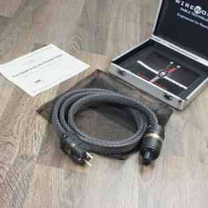 Wireworld Platinum Electra highend audio power cable 1,5 metre NEW 21