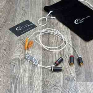 Crystal Cable Piccolo Diamond audio interconnects RCA 1,0 metre 1