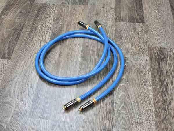 Groneberg Quattro Reference audio interconnects RCA 1,0 metre 1