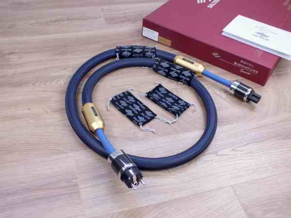 Siltech Ruby Double Crown G7 Signature highend audio power cable 2,0 metre 1