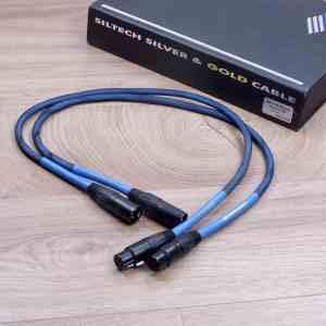 Siltech SQ-110 Classic G5 audio interconnects XLR 0,75 metre 1