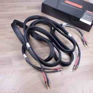 Tellurium Q Black Diamond audio speaker cables 2,5 metre 1