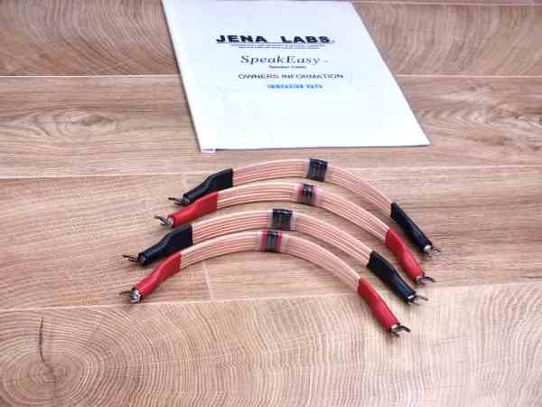 Jena Labs SpeakEasy Model 6 audio speaker cable jumpers 1