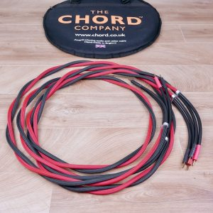 Chord Company Signature audio speaker cables 3,5 metre 1