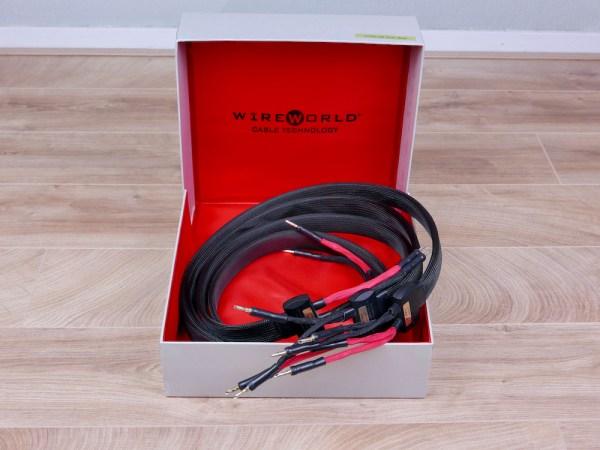 Wireworld Eclipse 6 audio speaker cables 2,0 metre 1