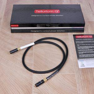 Tellurium Q Black Diamond Waveform HF Digital audio interconnect RCA 1,0 metre 1