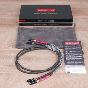 Tellurium Q Black Diamond audio interconnects RCA 1,0 metre 1