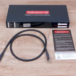Tellurium Q Black audio USB cable (type A to B) 1,0 metre 11