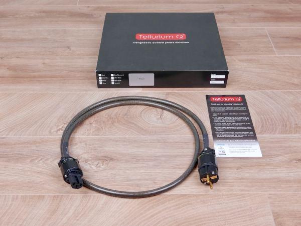 Tellurium Q Black audio power cable 1,5 metre 31