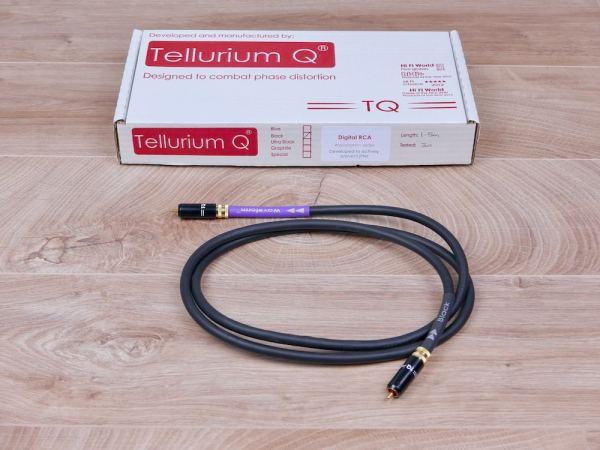 Tellurium Q Black Waveform digital audio interconnect RCA 1,5 metre 1