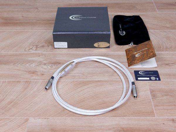 Crystal Cable CrystalDigit Dreamline highend digital audio interconnect RCA 2,0 metre 1