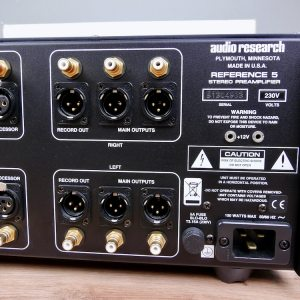 Audio Research Reference 5SE highend audio preamplifier 5