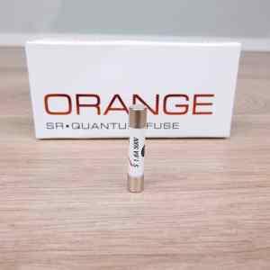 Synergistic Research Orange audio Quantum Fuse 63x32mm Slo-blo 16A 500V 1