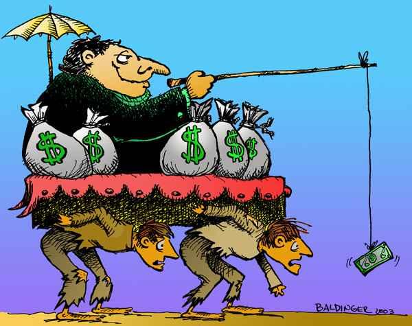 lationamerica, ricos vs pobres