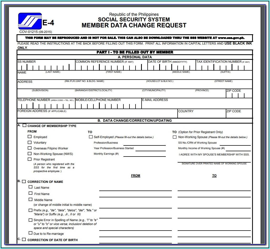 Social Security Disability Application Form Texas