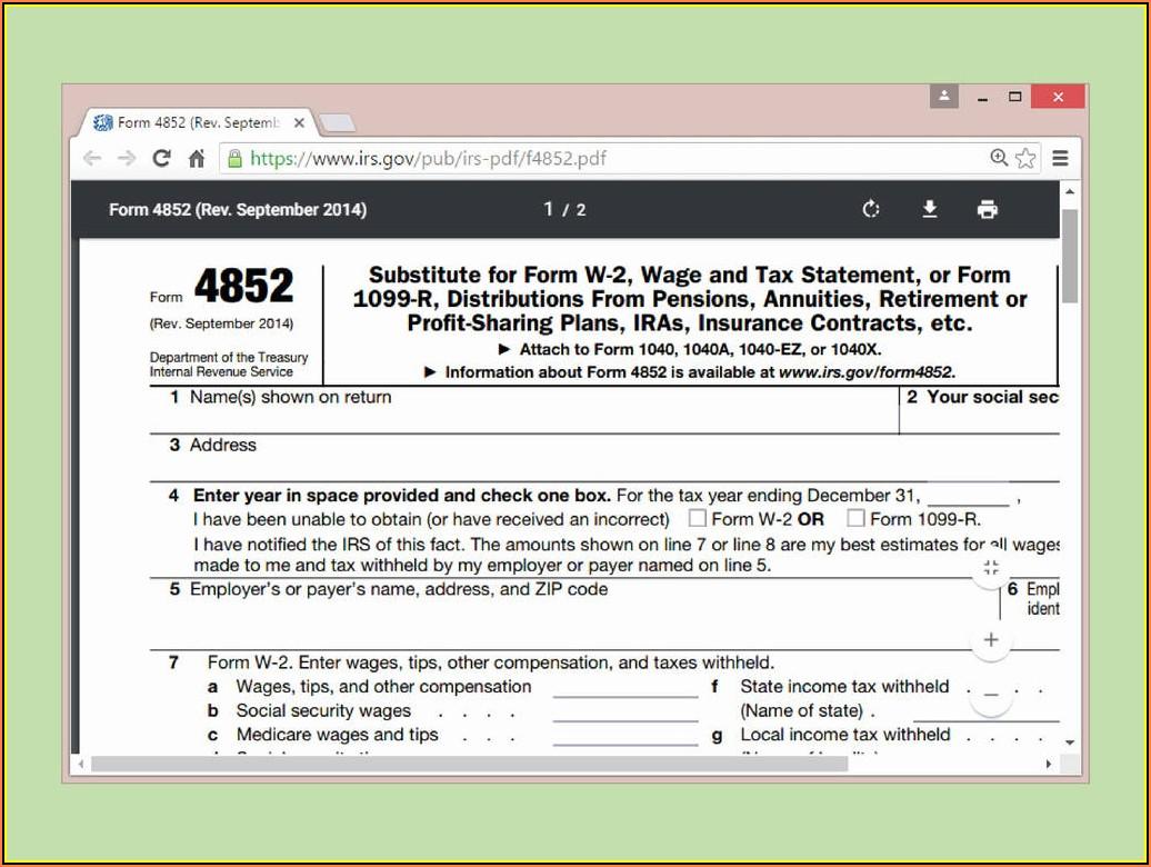 Tax Forms Printable