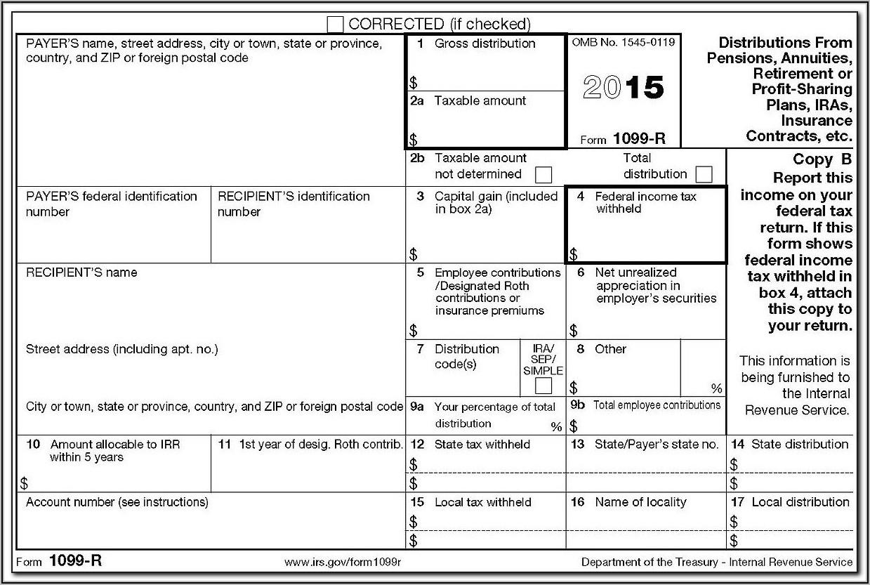 Cancellation Of Debt Form