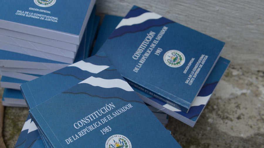 Las reformas constitucionales serán previamente aprobadas por Bukele