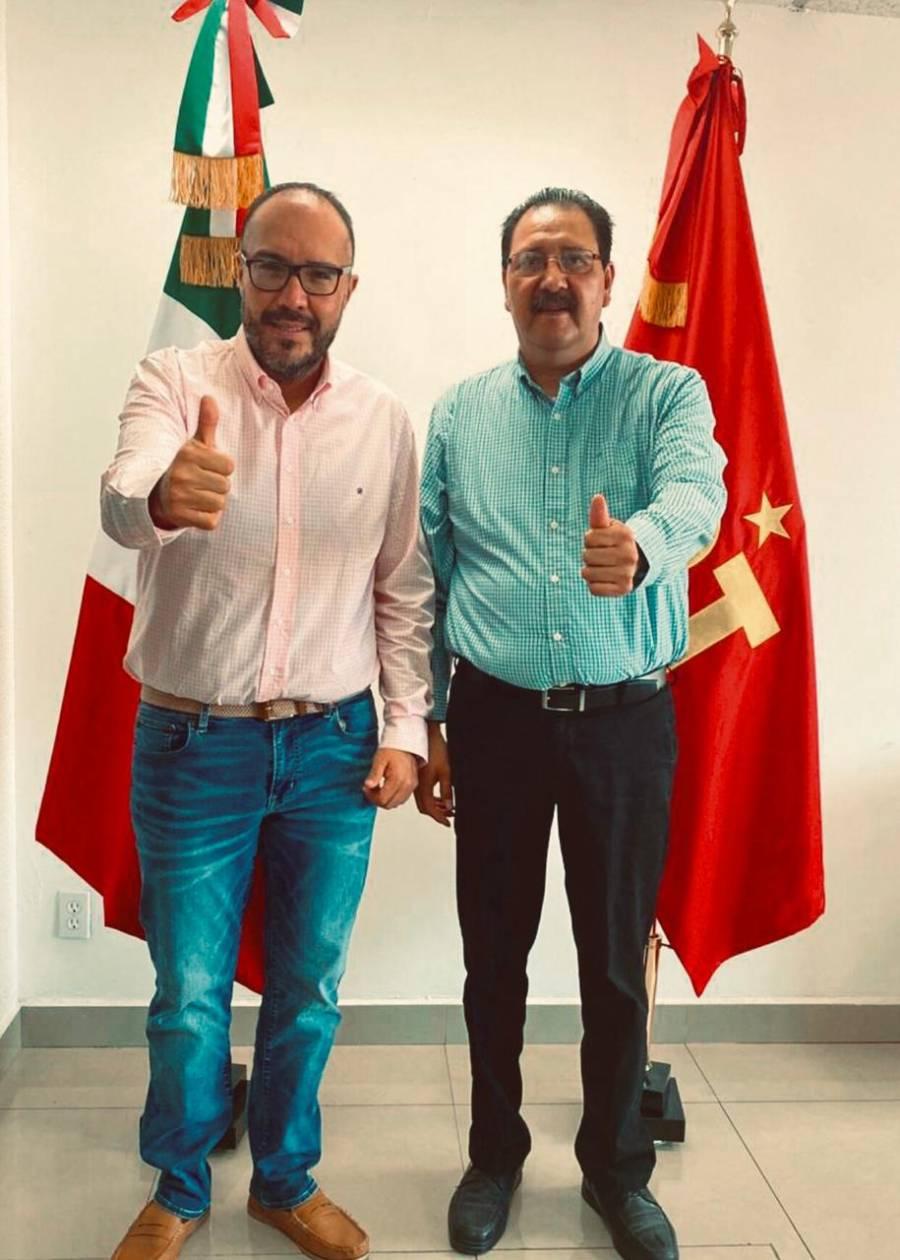 Destapa Toledo a Reginaldo Sandoval como candidato a gobernador de Michoacán por el PT