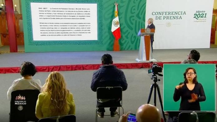 AMLO envía nota diplomática a EEUU por intervencionismo - ContraRéplica -  Noticias
