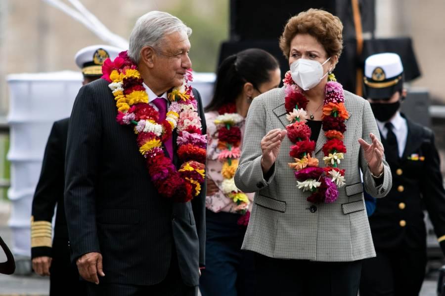 AMLO y Dilma Roussef evidencian el legado de Tenochtitlan - ContraRéplica -  Noticias