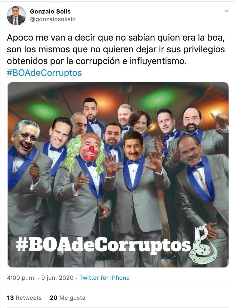 Estos Son Los Memes Por El Proyecto Boa Contra Amlo 24 Horas Puebla