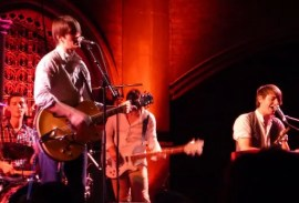 The Leisure Society at Union Chapel, Islington