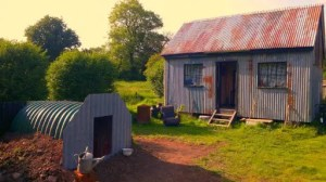 Tin Shed Experience, 1940s museum in Laugharne, west Wales