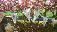 Bunting by KatyLou , exhibitor at The Caterham Vintage and Art Fair
