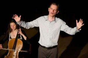 Devils Violin Company (Daniel Morden and Sarah Moody) present Orpheus