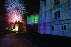 Fireworks Night Bolsover Castle, Derbyshire (Photo courtesy of the English Heritage photo library)