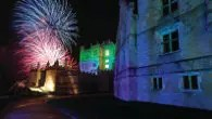 Fireworks Night Bolsover Castle, Derbyshire (Photo courtesy of the English Heritage photo library)