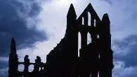 The ruins of Whitby Abbey (picture courtesy of English Heritage photo library)