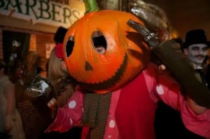 Winterwell Festival presents The Cursed and The Damned fancy dress Halloween party