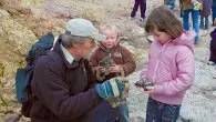 This half term go fossil walking with experts from Dinosaur Isle